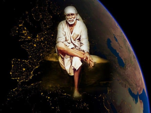 sai baba simple hd wallpapers