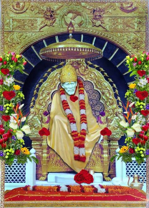 Baba is every where not only in Shirdi.