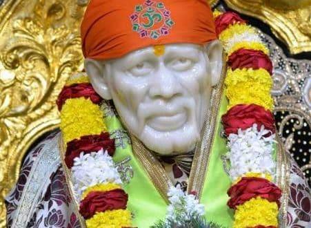 Sai Baba Blessing.