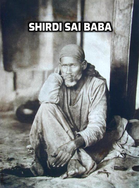 Shirdi Sai Original Picture.