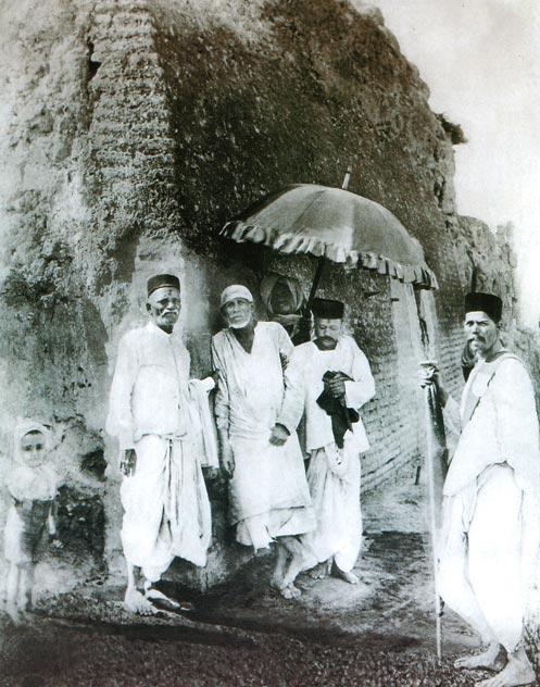 Baba Original Picture in Shirdi.